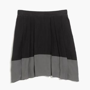 Madewell Premiere Colorblock Skirt S